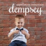 Dempsey: Baby Name of the Day