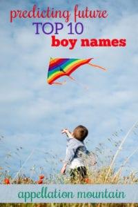 Future Top Ten Boy Names