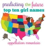 Future Top Ten Girl Names 2020 Edition