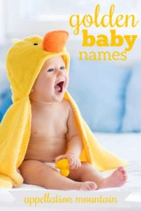 Golden Baby Names