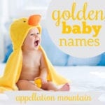 Golden Baby Names: Goldie, Aurelia, Zahava
