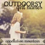 Name Help: Outdoorsy Girl Names