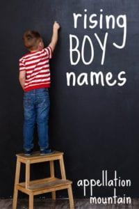 Rising Boy Names