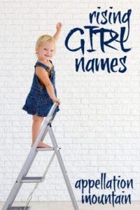 Rising Girl Names