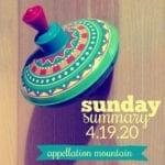 Sunday Summary: 4.19.20
