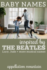 baby names inspired by the Beatles