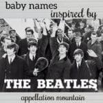 Beatles Baby Names: Lucy, Eleanor, Jude