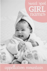 Name Help: Sweet Spot Girl Names