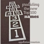 New Top 100 Baby Names Predictions