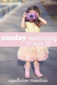 Sunday Summary: 5.17.20