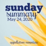 Sunday Summary 5.24.20