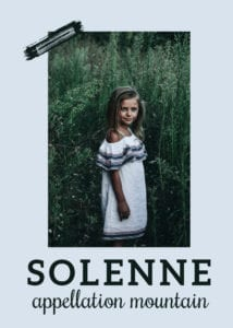 baby name Solenne