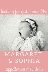 Name Help: Something Like Margaret