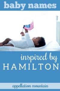 Hamilton baby names