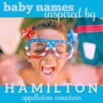 Hamilton Baby Names: Alexander, Eliza, Hercules