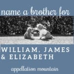 Name Help: William, James, Elizabeth, and …