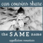 Name Help: Same-Named Cousins