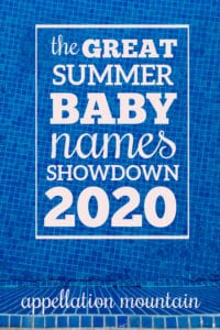 Summer Baby Names Showdown 2020 Girls Final