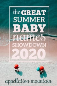 Summer Baby Names Showdown 2020: Girls SemiFinals