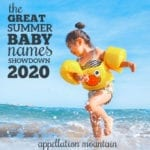 Summer Baby Names Showdown 2020: The Winners!