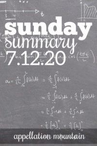 Sunday Summary 7.12.20