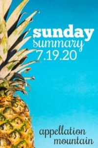 Sunday Summary: 7.19.20