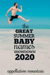 Summer Baby Names Showdown 2020: Boys Final