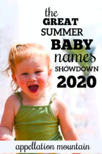 summer baby names showdown girls quarterfinals