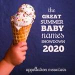 Summer Baby Names Showdown 2020: Girls Opening Round