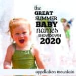 Summer Baby Names Showdown 2020: Girls Quarter Finals