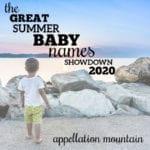 Summer Baby Names Showdown 2020: Boys Quarter Finals