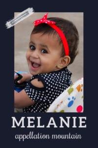 baby name Melanie