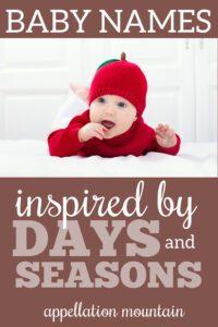 seasonal baby names