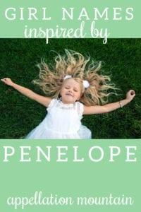 names like Penelope
