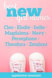 best new girl names 2020