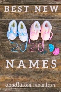 best new baby names 2020