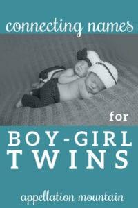 Name Help: Boy-Girl Twins