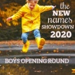 New Names Showdown 2020: Boys Opening Round
