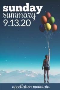 Sunday Summary 9.13.20