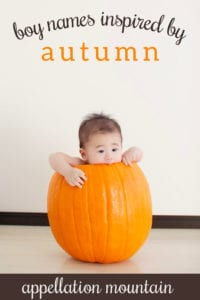 autumn boy names