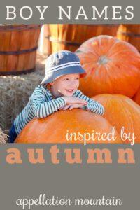 autumn boy names