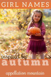 Autumn Names for Girls