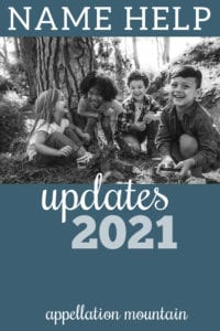 Name Help Updates 2021