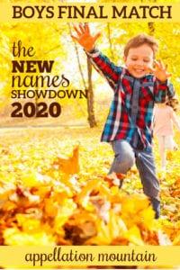 New Names Showdown 2020: Boys Final