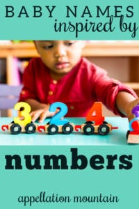 baby names from numbers