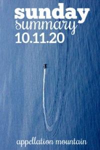 Sunday Summary: 10.11.20