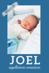 baby name Joel