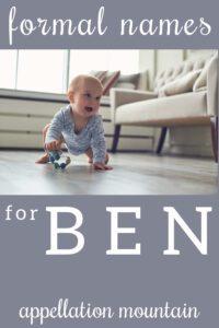 nickname Ben