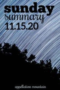 Sunday Summary 11.15.20