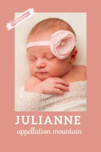 baby name Julianne